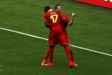 Belgium grind out 1-0 win against Russia