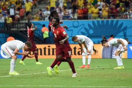 Last minute header denies USA victory over Portugal