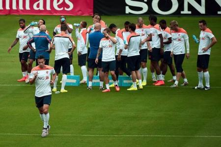 RVP: Brazil or not, we want top spot