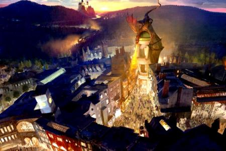 New Harry Potter theme park looks amazing