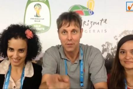 Neil in Brazil: Pick the Winner - Brazil vs Cameroon