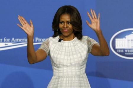 Michelle Obama: No more politics