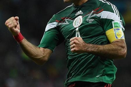 Marquez leads Mexico into last-16 clash with Holland