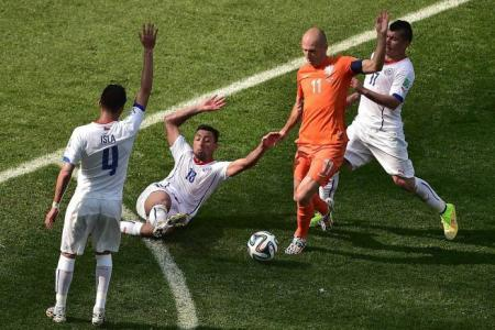 Robben's the standout player in Brazil