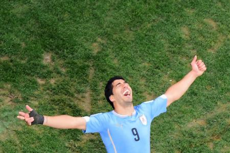 Suarez is Uruguay's saviour