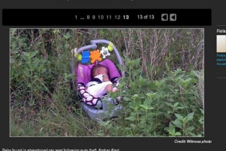 Missing baby found after 5-hour search