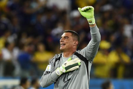 Goldie oldie! Mondragon becomes oldest World Cup player