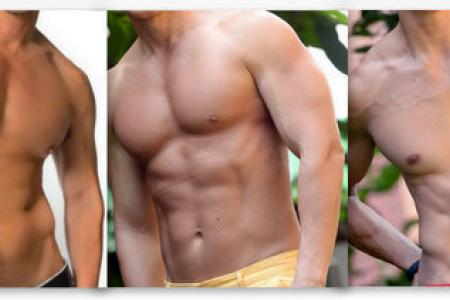 POLL: Which of these bods belongs to this year's oldest Manhunt contestant?