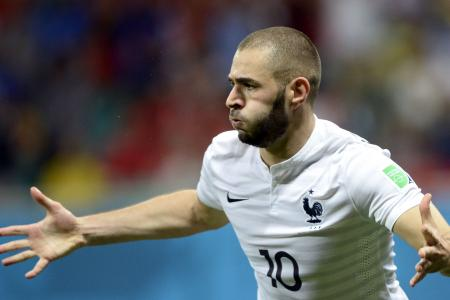 Benzema is France's main threat