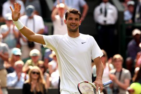Dimitrov reaches maiden Wimbledon third round