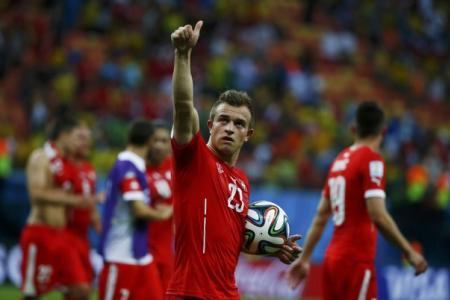 Swiss beat  Honduras to set up Messi date