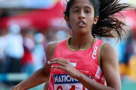 Shanti wins 100m gold in 11.95 sec in Malaysia