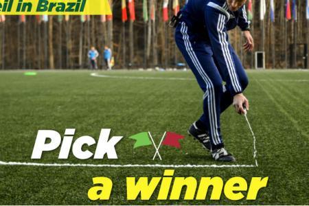 Neil in Brazil: Pick the Winner - USA v Germany