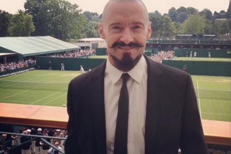 Wolverine's Wimbledon selfie spree