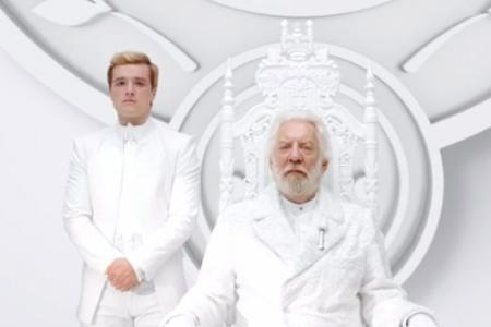 Here's your first look at The Hunger Games: Mockingjay part one