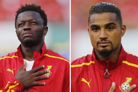 Ghana in disarray as Boateng and Muntari suspended