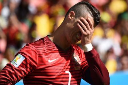 Ronaldo aim off as  Portugal ousted despite Ghana win