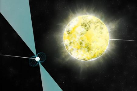 Diamond the size of earth found in space