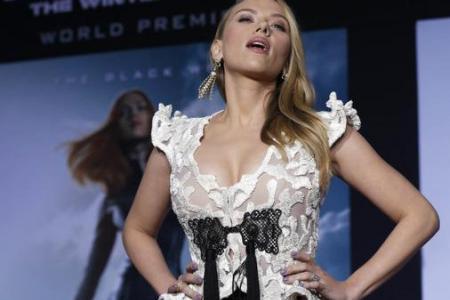 Scarlett Johansson's perfect nose