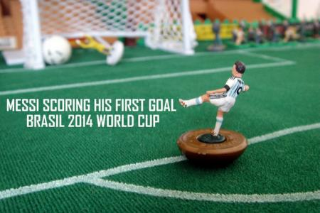 Pint-sized mementos of the best of the World Cup