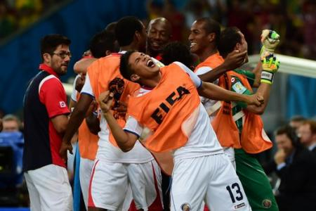 Los Ticos sends Greeks packing after penalty shootout