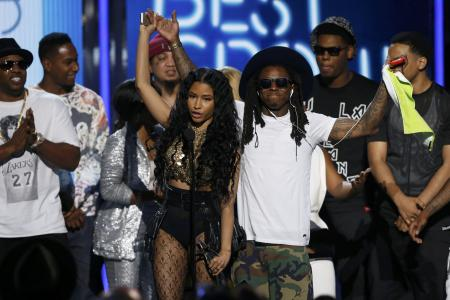GALLERY: Pharrell, Minaj lead BET award winners