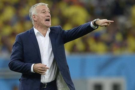 Deschamps tempers France's expectations