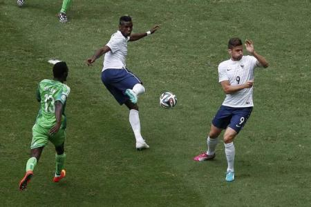 France continue to believe as they march into last 8
