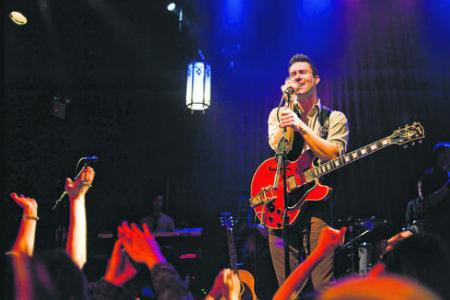 Levine acted for free in musical Begin Again