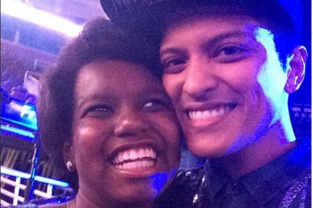 Bruno Mars' shout out to 'inspirational' 11-year-old