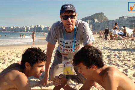 Neil in Brazil: Pick the Winner - Belgium vs USA