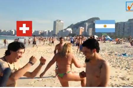 Neil in Brazil: Pick the winner - Argentina vs Switzerland