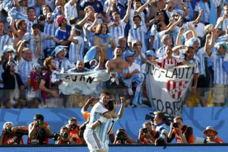 Di Maria's late winner gifts Argentina 1-0 win over Switzerland