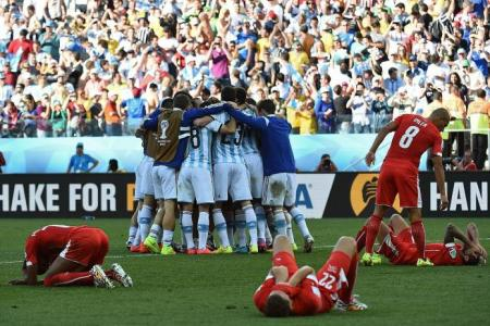 Argentina can thank their lucky stars for late winner