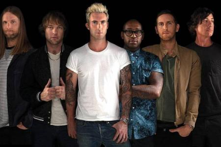 Maroon 5's Levine is one charming d-bag