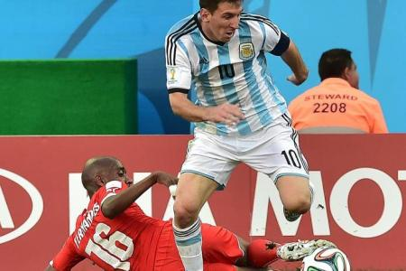 Another moment of magic from Messi