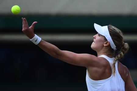 Bouchard happy to be held up by William and Kate