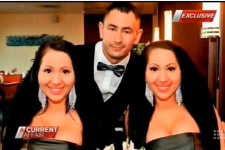 Lookalike twins share one boyfriend