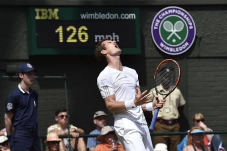 Wimbledon: Murray dethroned as youthful uprising continues