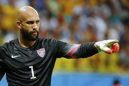 Goalkeeper Howard is the US' new superhero