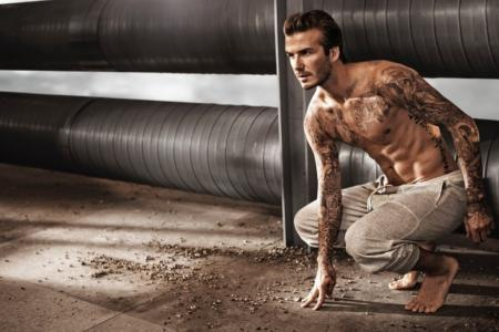Beckham sizzles in new H&M photoshoot