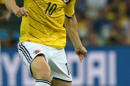 Rodriguez will outshine Neymar in a battle of No. 10s