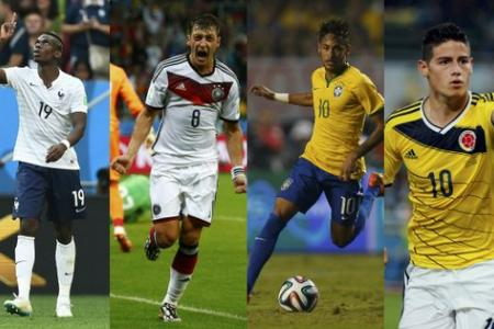 Poll: Pick your winners for France v Germany, Brazil v Colombia