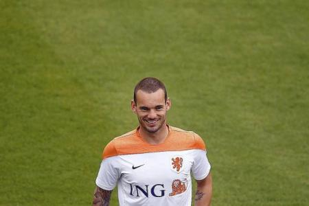 Sneijder: Pretty football won't guarantee our stay