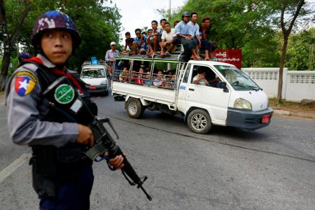 Angry mourners mass in riot-hit Myanmar city