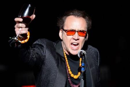 Congrats Nicolas Cage, you're a granddaddy!
