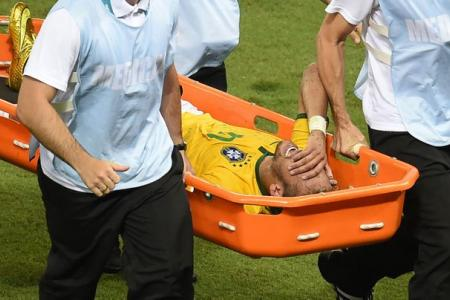 Neymar out of Cup as Brazil and Germany make semis
