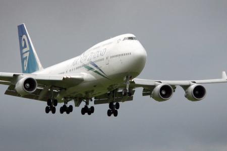 Mid-air drama on Air NZ flight