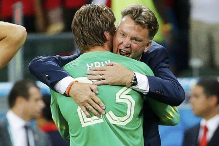 Van Gaal is best manager at World Cup