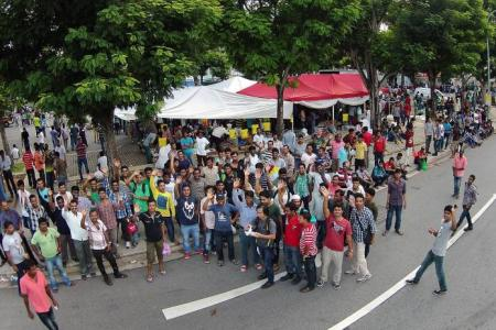 No more shoving to get on buses in Little India